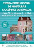 2ª FEIRA INTERNACIONAL  DE CASA DE BONECAS