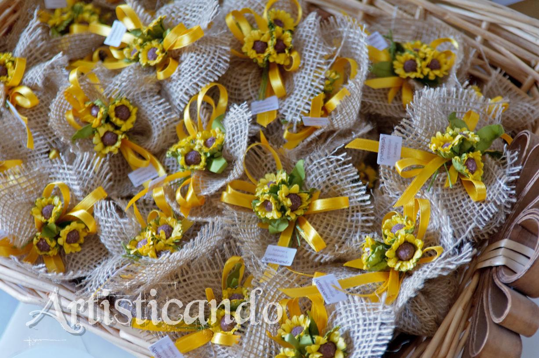 Segnaposto Matrimonio Girasoli : Get married girasoli