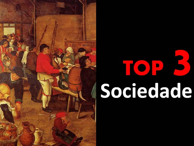 Top 3 - Sociedade