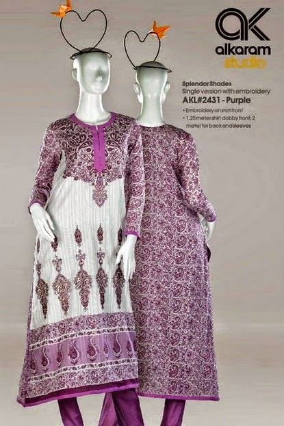 Alkaram Summer Dresses Joy of Spring