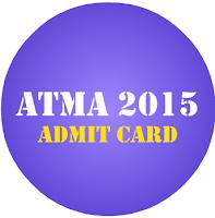 ATMA admit card 2015