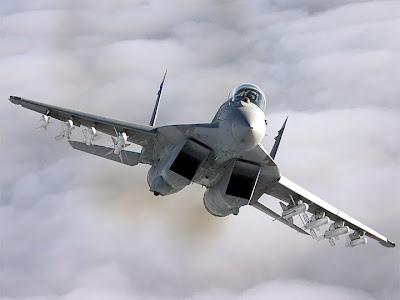 Mig-35 visão frontal.