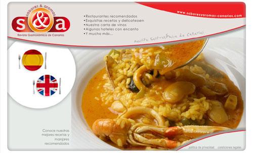 ver página web de Revista Gastronómica de Canarias - Restaurantes, Recetas, Delicatessen...