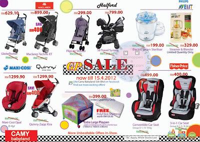 Camy Babyland GP Sale