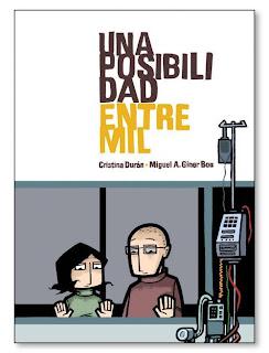 Novela gráfica Una posibilidad entre mil.