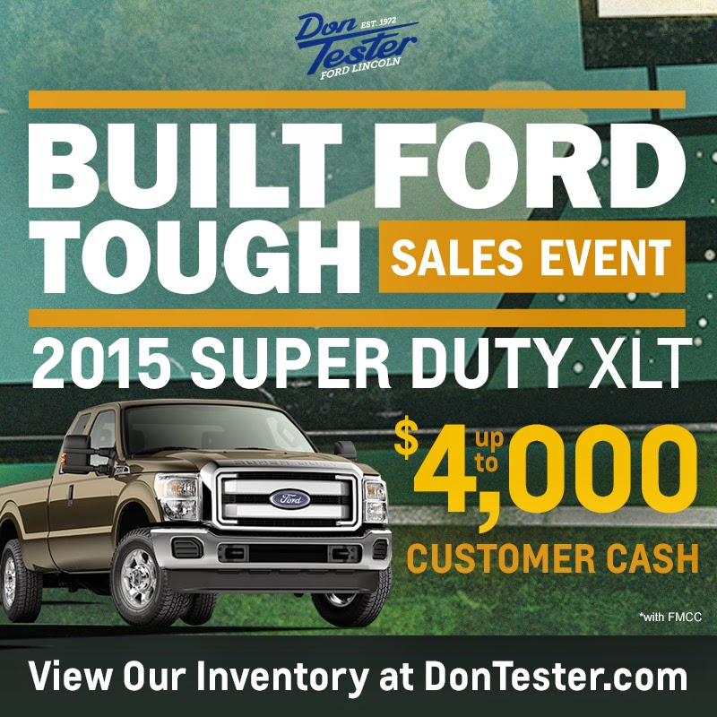 Built Ford Tough Sales Event at Don Tester Ford Lincoln