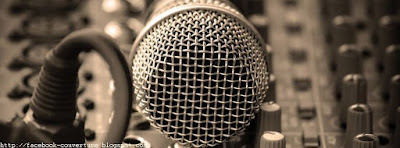 Photo de couverture facebook microphone