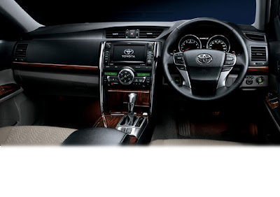 interior toyota mark