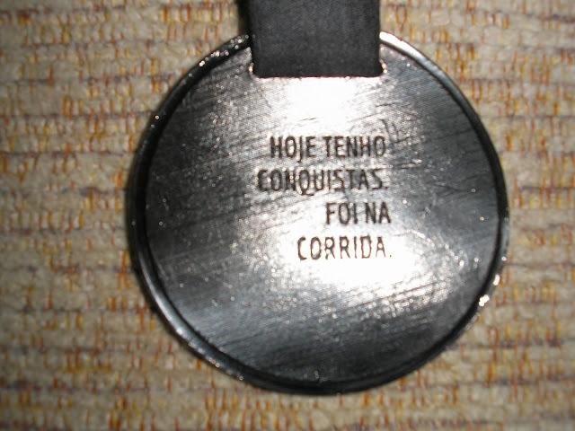 Meia Maratona de Curitiba medalha