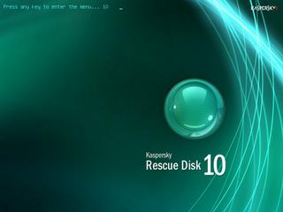 Kaspersky Rescue Disk 10.0.31.4 Update 2012