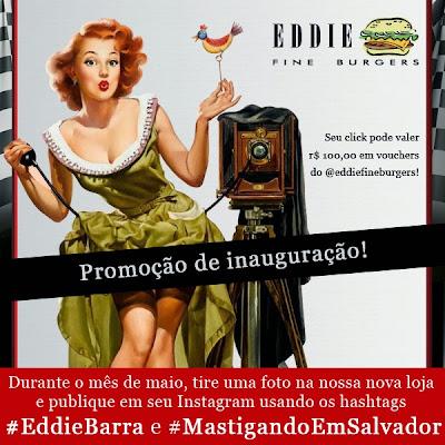 Concurso Cultural Mastigando no #EddieBarra