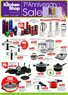 Kitchen Shop 1st Anniversary Sale 2012