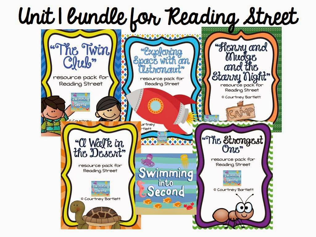 http://www.teacherspayteachers.com/Product/Reading-Street-Unit-1-bundle-1346078