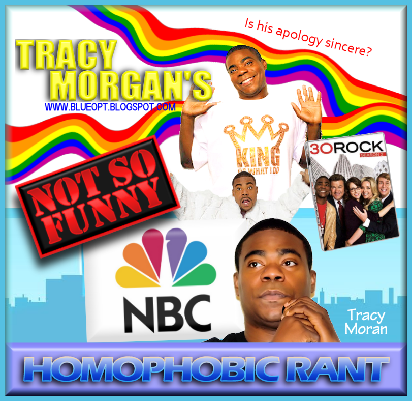 Comedian Tracy Morgan has come under fire lately because of some homophobic ...