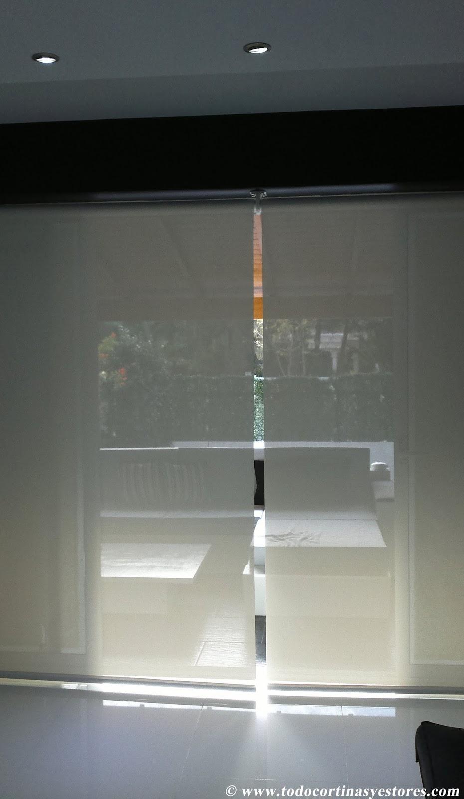 Decoracion Interior Cortinas Verticales Estores Enrollables  ~ Como Hacer Estores Sin Varillas
