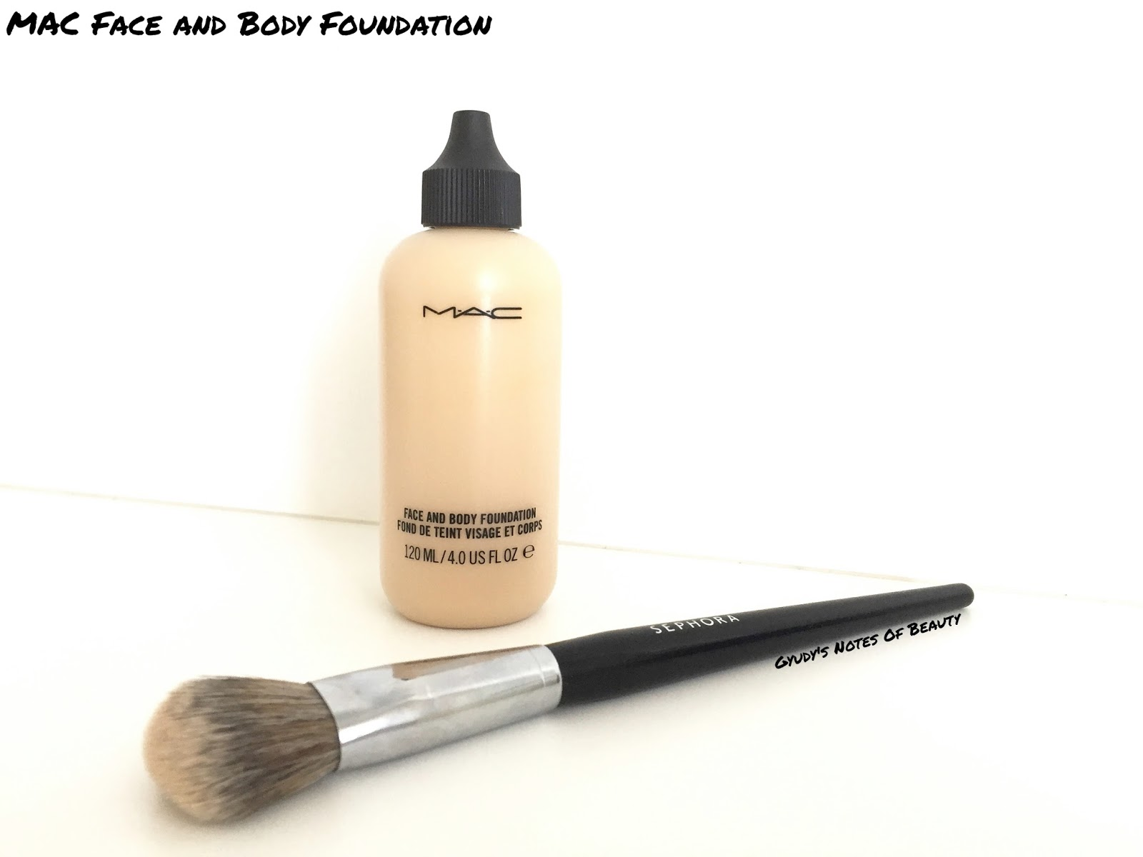 MAC Face and Body Foundation Review