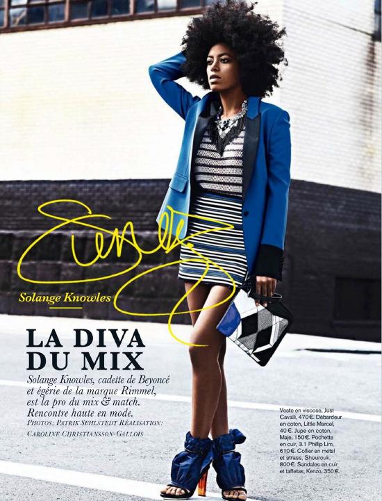 La Diva Du Mix Solange Knowles African Prints In Fashion
