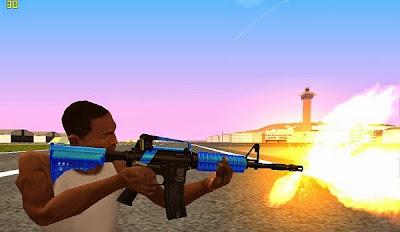 Mod M4 RevoFX (M4 Blue)