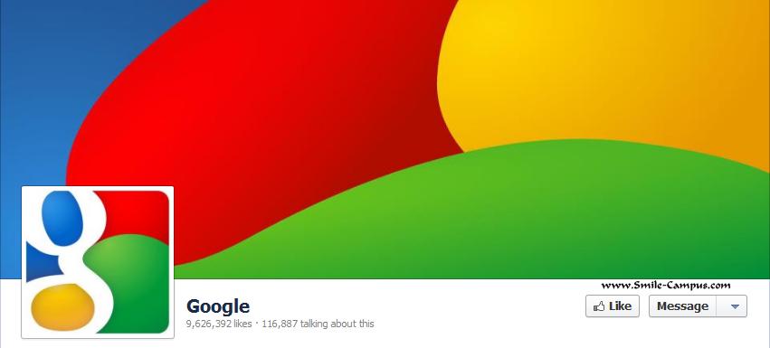 Google.com Facebook Timeline Page