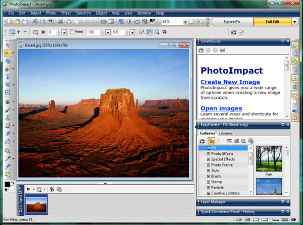 Aplikasi Edit Foto Corel PhotoImpact