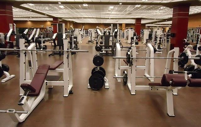 siłownia fitness ławeczka