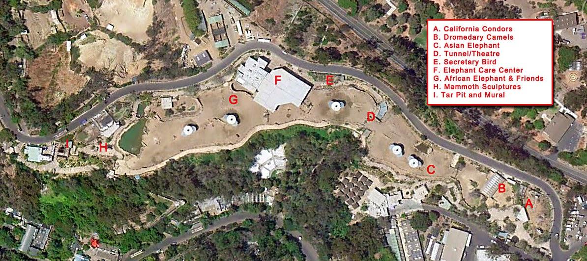 Shyguys Theme Park World Elephant Odyssey At The San Diego Zoo - San diego zoo map