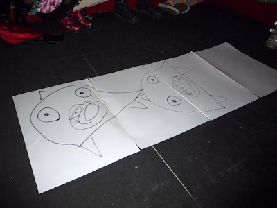 メガマウス絵描き歌
