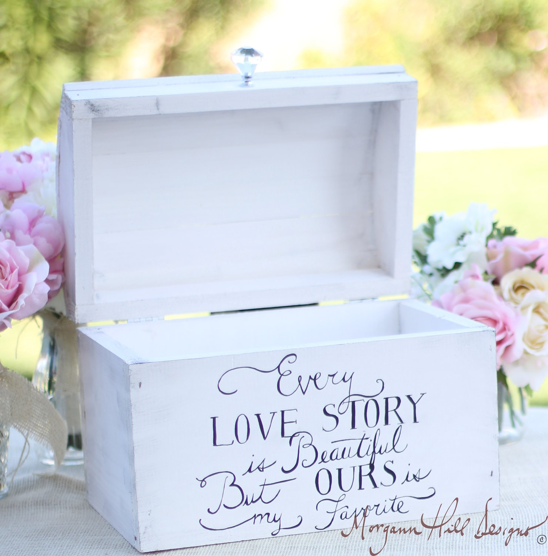 Morgann Hill Designs Wedding Card Box Shabby Chic Decor Vintage – Vintage Wedding Card Box