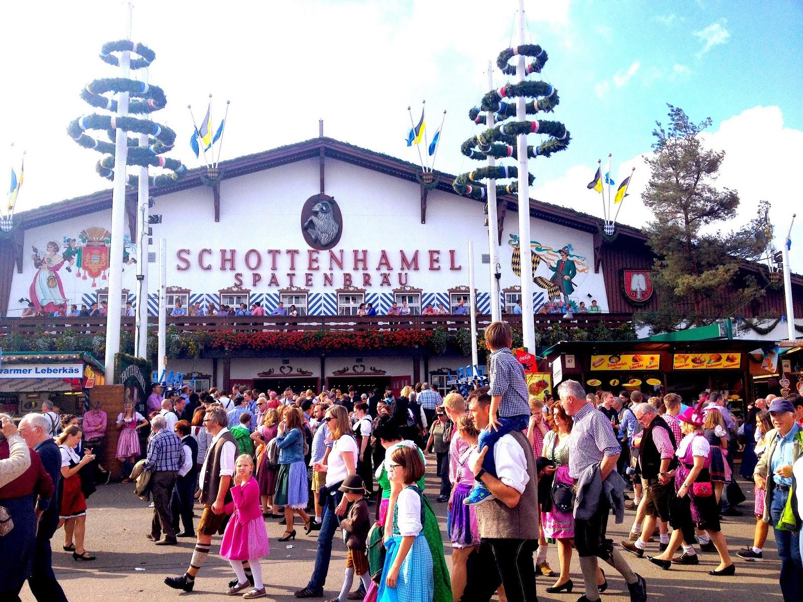 Schottenhamel Tent Oktoberfest 2014