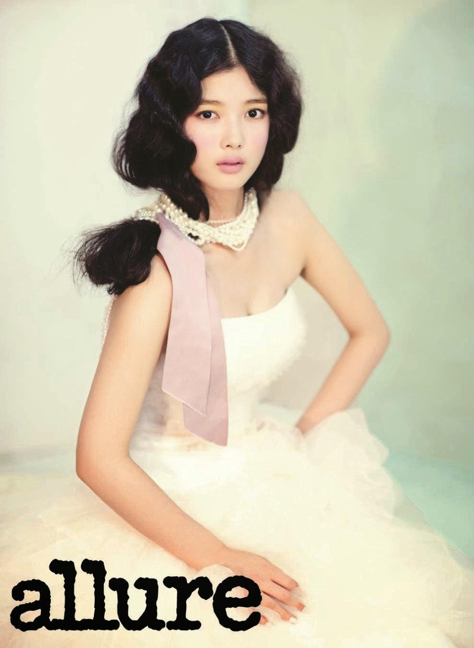 Kim Yoo Jung - Allure Magazine February Issue 2014