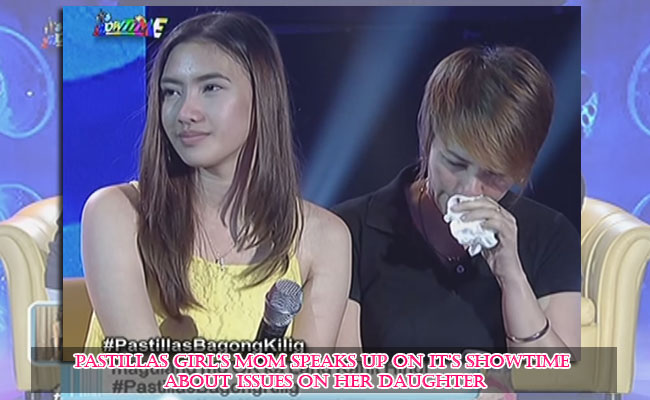 Pastillas Girl's Mom Speaks up on It's Showtime about Issues on her Daughter