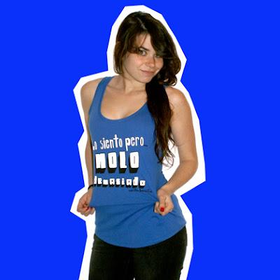 Camiseta de tirantes de Carita Bonita Lo siento pero molo demasiado