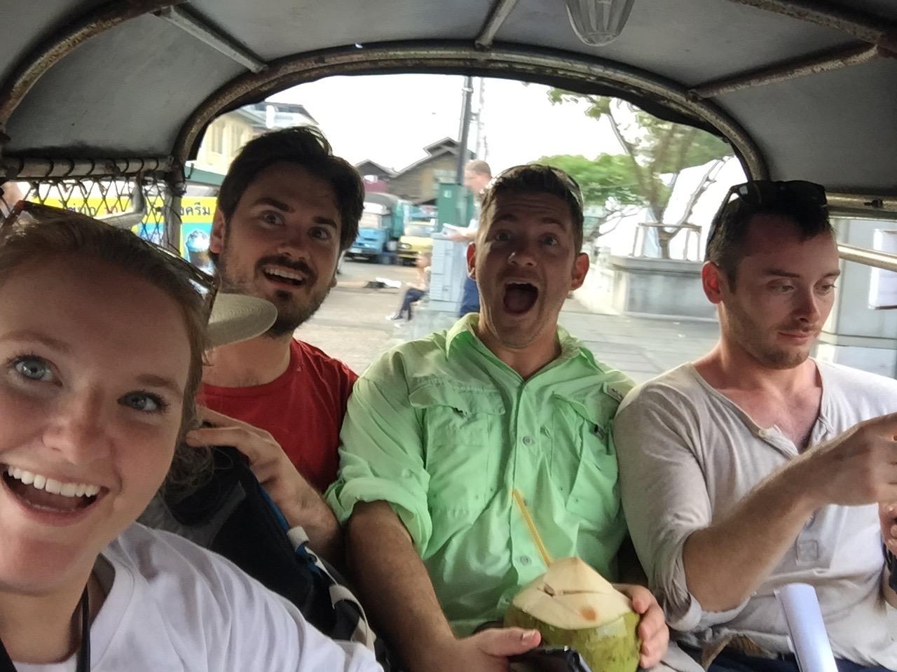 Taking a Tuk Tuk through Bangkok - A City Guide to Thailand