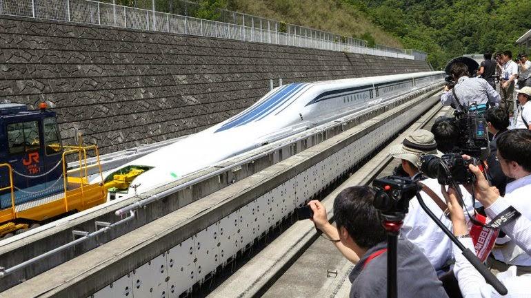 NOTICIAS - Estados Unidos tendrá un tren de levitación magnética de gran velocidad