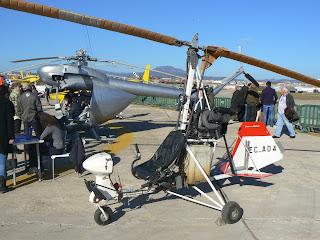 Autogir Sallent Aviación cedit a l'FPAC.