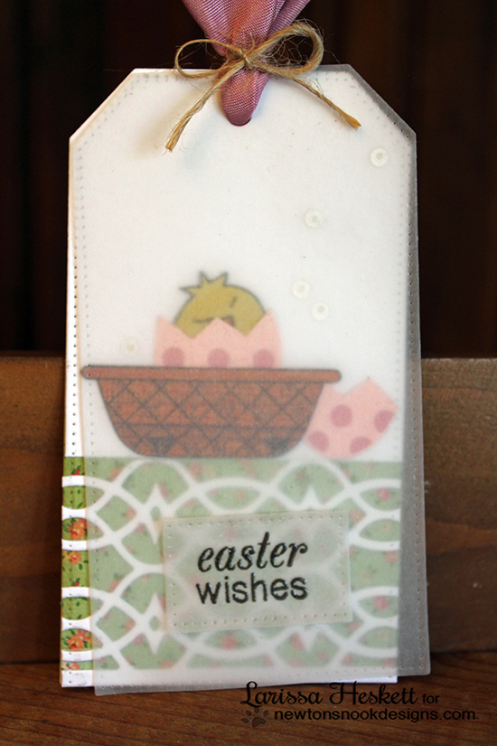 Easter Projects by Larissa Heskett using Easter Scramble and Basket of Wishes sets by Newton's Nook Designs