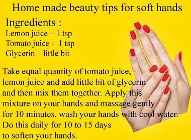 Hands Whitening Homemade Best Tip