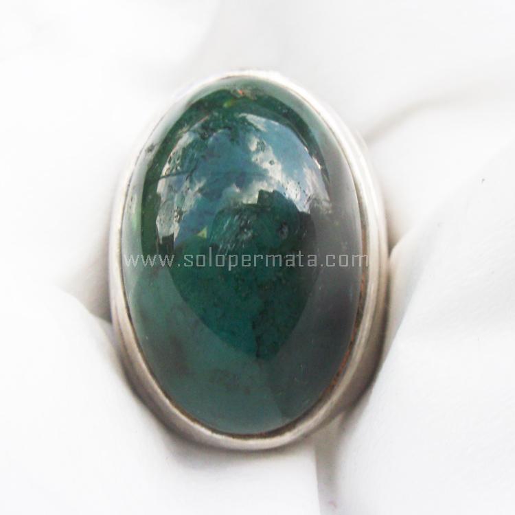 Cincin Batu Permata Bacan Doko Kristal - SP675