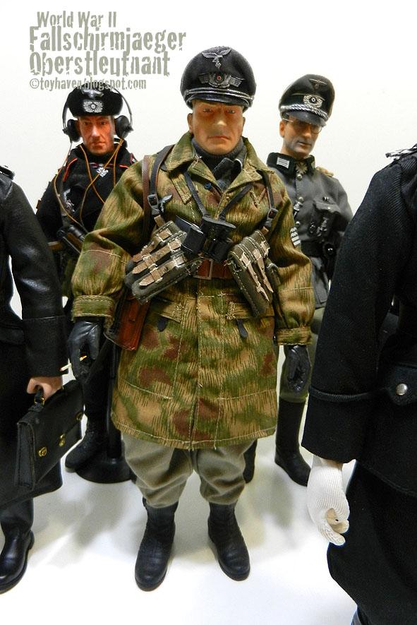 1:6 Scale Dragon World War Two German light camo Splinter réversible uniforme