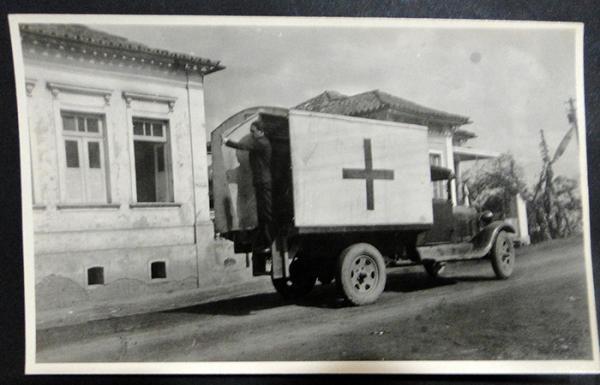 Ambulância e Posto de Saude de Barbacena MG