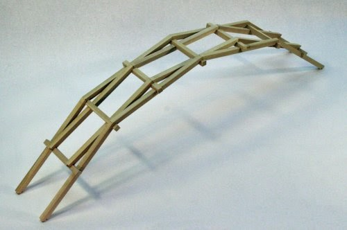how to build a bridge using popsicle sticks