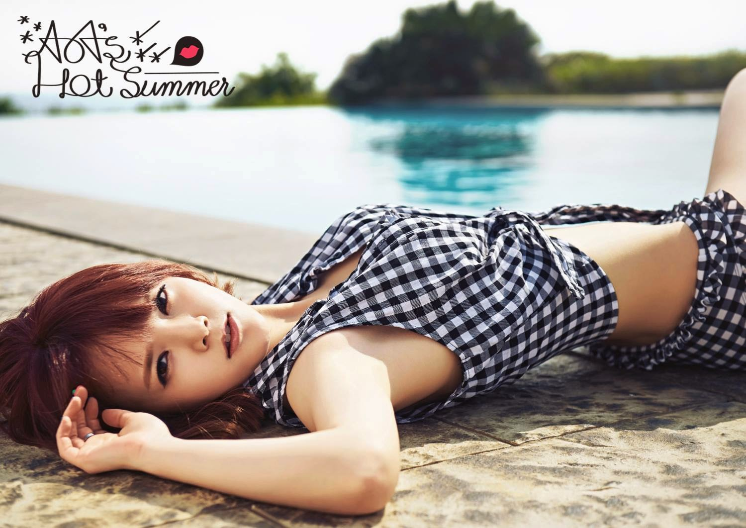 Jimin AoA Photobook Hot Summer