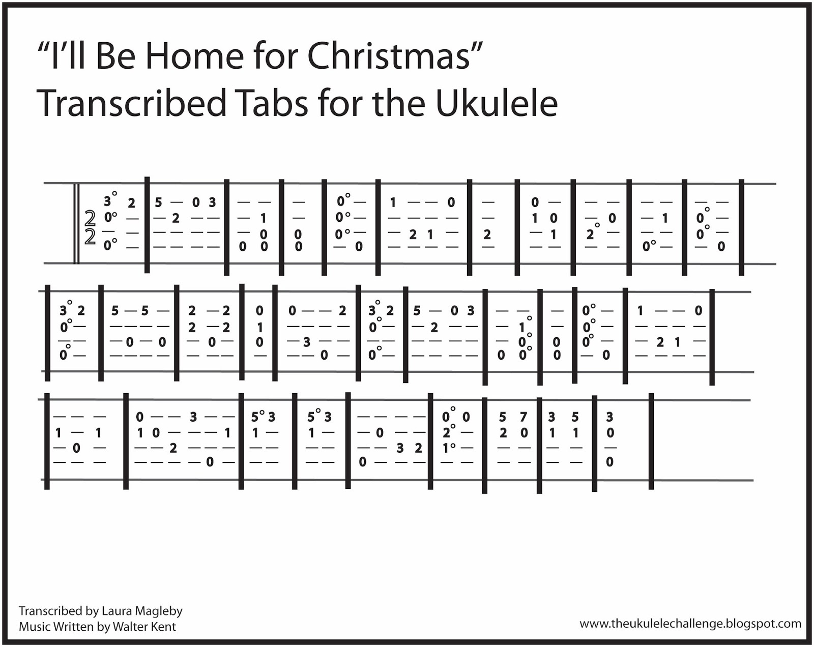 The Ukulele Challenge: \