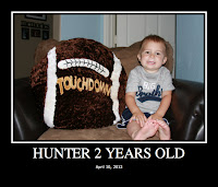 Hunter Two Years Old