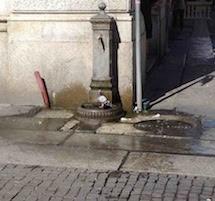 L'acqua è un bene pubblico e le fontanelle sono un servizio sociale