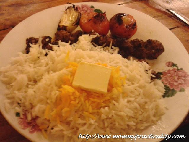 World Class Persian Kabab's Chelo Kabab