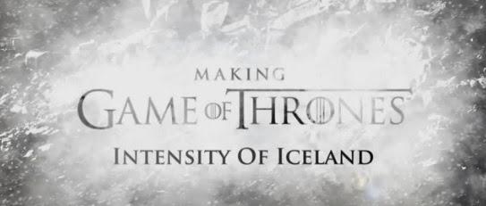 Intensity of Iceland la intensidad de islandia - Juego de Tronos en los siete reinos