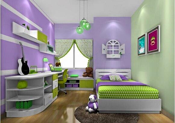 52 Dekorasi Kamar Tidur Minimalis Anak Perempuan ...