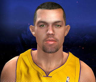 NBA 2K14 Jordan Farmar Cyberface Mod
