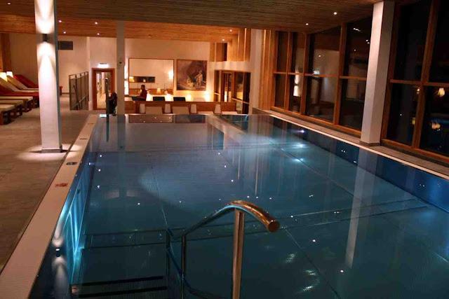 Sky Spa des Erzherzog Johann Hotel in Bad Aussee